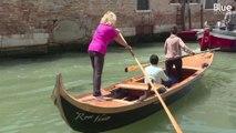 À Venise, ces touristes apprennent à conduire les gondoles