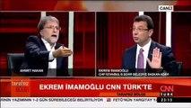Ekrem İmamoğlu ve Ahmet Hakan arasında 'Yunan' polemiği