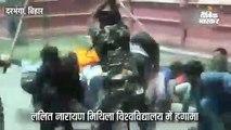 एबीवीपी कार्यकर्ताओं पर पुलिस ने किया लाठीचार्ज