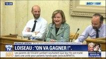 """Européennes 2019: """"On va gagner"""" s'est exclamée Nathalie Loiseau devant les députés LaREM"""