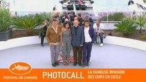 LA FAMEUSE INVASION DES OURS EN SICILE - Photocall - Cannes 2019 - EV