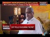 10,750 is the bottom for market if NDA gets clear majority, says Rakesh Jhunjhunwala