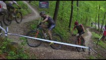 HIghlights from stage 2 of UCI World Cup