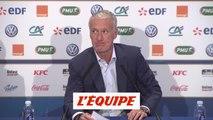 Deschamps convoque Lenglet, Maignan et Dubois pour la première fois - Foot - Bleus