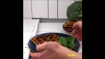 Gaufres aux brocolis