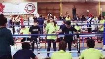 CHAMPIONNATS DE FRANCE UNSS BOXE SAVATE à Armentières