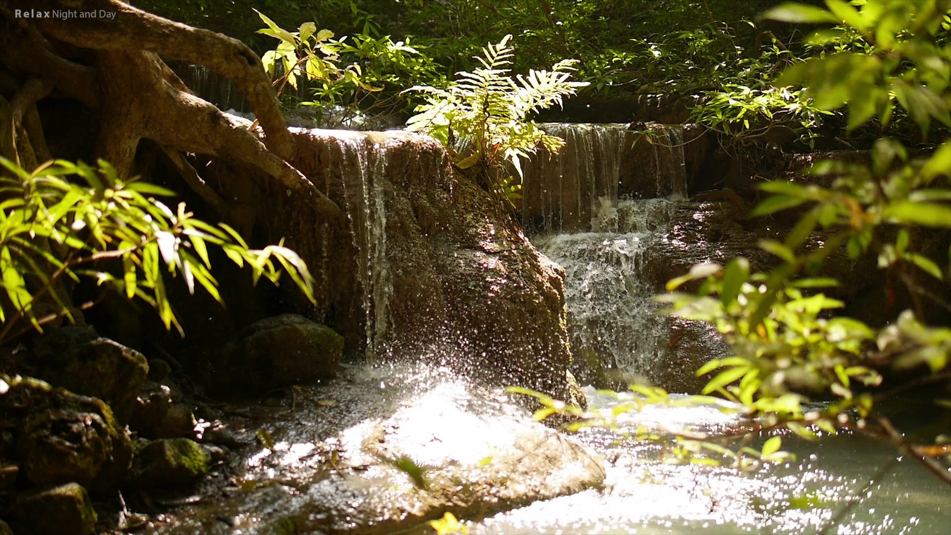 ZEN Music - 4K, ZEN River with Beautiful Zen Garden Waterfall, Beautiful Nature Stream for Stress Re