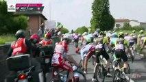 Giro d'Italia 2019   Stage 10   Battaglin Crashed