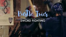 Women Try Sword Fighting For The First Time