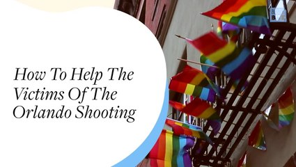 How To Help The Victims Of The Orlando Shooting