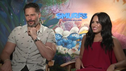 Smurfs Cast Finishes The TV Theme Song Lyric