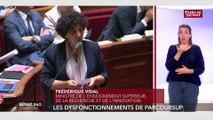 Parcoursup : « Je n'ai jamais parlé d'un problème informatique » se défend Frédérique Vidal.