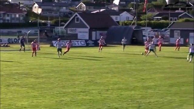 Simen Lirio scores a crazy rabona goal in Norwegian 5. division