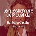 La questionnaire de Proust de Barbara Cassin