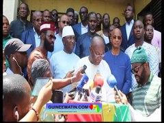 Guinee le front anti 3eme mandat demande une intervention di