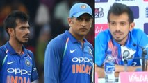 "ICC Cricket World Cup 2019 : Yuzvendra Chahal Says ""Whatever Happens,We Need Mahi Bhai"" | Oneindia"