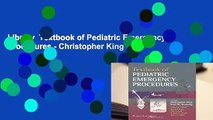 Library  Textbook of Pediatric Emergency Procedures - Christopher King