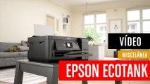 La mejor impresora para tu hogar Epson EcoTank