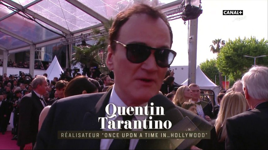 Quentin Tarantino à Cannes pour la première mondiale de Once Upon A Time In Hollywood - Cannes 2019