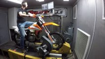 2019 KTM 500 EXC-F Dyno Test - video dailymotion