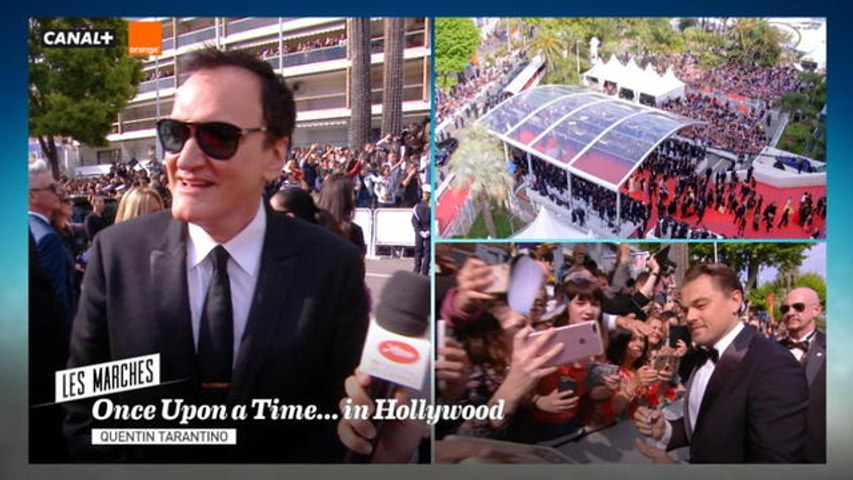 Interview de l'équipe du film Once Upon a Time in Hollywood - Cannes 2019