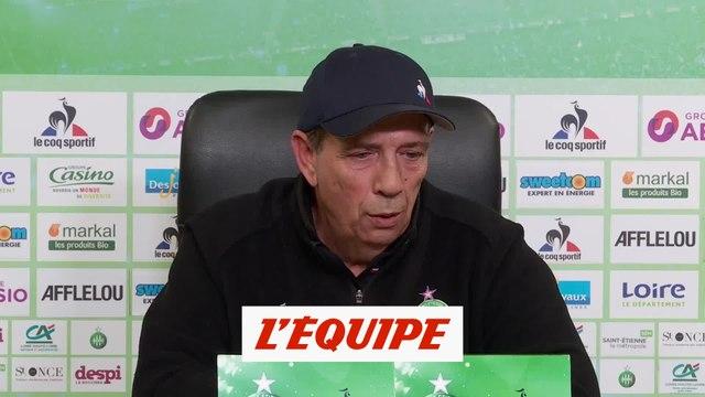 Gasset «On a remis le club là où il devait être» - Foot - L1 - Saint-Etienne
