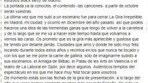 Coque Malla anuncia gira de conciertos de su próximo álbum