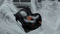 Mercedes-Benz ESF 2019 - Connected child safety seat with PRE-SAFE-function