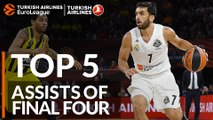 Top 5 assists of the Final Four!