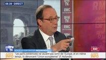 """François Hollande espère que les Français """"refuseront la solution extrémiste"""" car """"ils sont trop attachés à la liberté"""""""