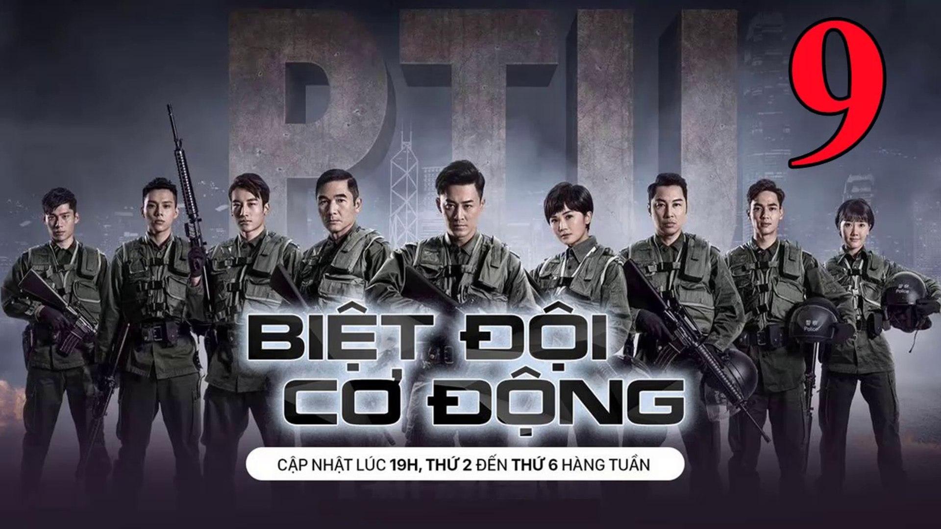 Phim Hành Động TVB: Biệt Đội Cơ Động Tập 9 Vietsub | 机动部队 Police Tactical Unit Ep.9  HD 2019