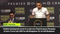 (Subtitled) Thurman to Pacquiao 'I'll end your career like you ended De La Hoya!'