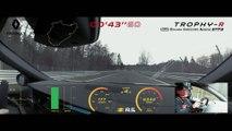 Renault Mégane RS Trophy-R : le record du tour au Nurburgring en vidéo