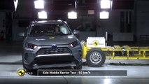 Crash-test Euro NCAP du Toyota Rav-4