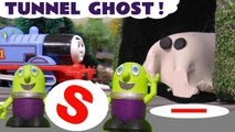 Tunnel Ghost Mystery with Thomas and Friends & Funny Funlings Learn English Learn Colors in this Spooky Challenge Family Friendly Full Episode English Story for Kids