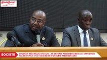 Situation sécuritaire du pays : Les groupes parlementaires de l'opposition plaident pour une commission d'enquête parlementaire