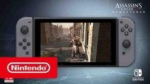 Assassin's Creed III Remastered sur Nintendo Switch - Trailer de Lancement