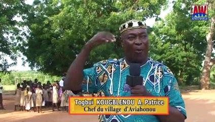 Togo: Mouvement Michée en action sociale anti-teigne dans le village d'Aviahonou à Vogan