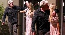 Evli Oyuncu Ron Perlman, Rol Arkadaşı Allison Dunbar ile Öpüşürken Yakalandı