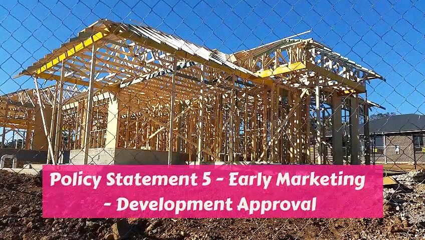 Alister Toma – Requirements for Marketing Real Estate Developments