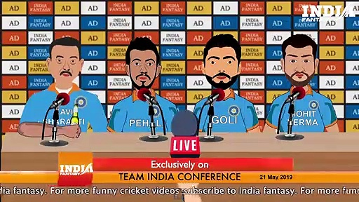 World Cup 2019 India Team Press Conference _ ICC Cricket World Cup 2019