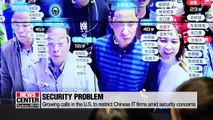 U.S. considers blacklisting Chinese video surveillance firm Hikvision: NY Times