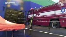 수출용 차량 2천 대 실린 선박서 화재…화재 원인 조사 중