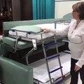 Un canapé convertible se transforme en lit superposé