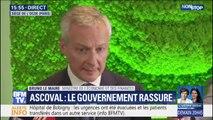 """Bruno Le Maire assure que British Steel avait """"apporté des garanties"""""""