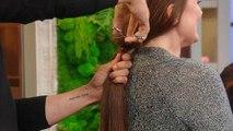 Watch Kim Kardashian's Hairstylist Chris Appleton Chop College Grad's Long Hair Off
