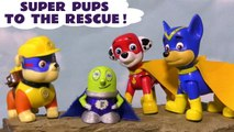 Paw Patrol Super Pups Rescue Thomas and Friends with Transformers Bumblebee & Marvel Avengers 4 Endgame Thor with Ultron as the Funny Funlings help in this full episode