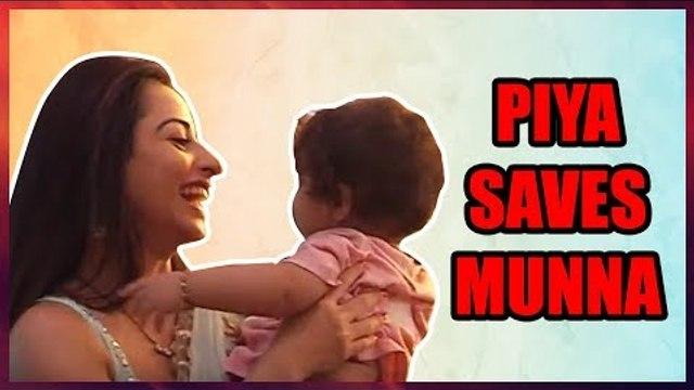 Nazar: Piya and Ansh save their son Munna