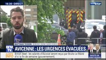 Une patiente armée menace de mettre fin à ses jours à l'hôpital Avicenne de Bobigny