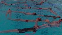 """Comme dans le """"Grand Bain"""", ces quadras vont participer à une compétition de natation synchronisée"""